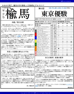 web楡馬 通巻239号 東京優駿号