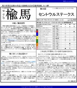web楡馬 通巻244号 セントウルステークス号