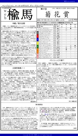 web楡馬_通巻12号_菊花賞