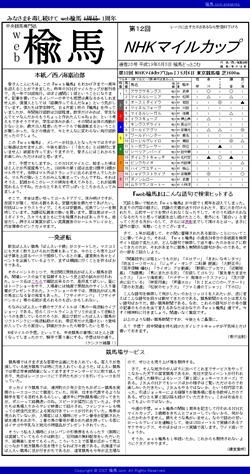 web楡馬_通巻25号_NHKマイルカップ
